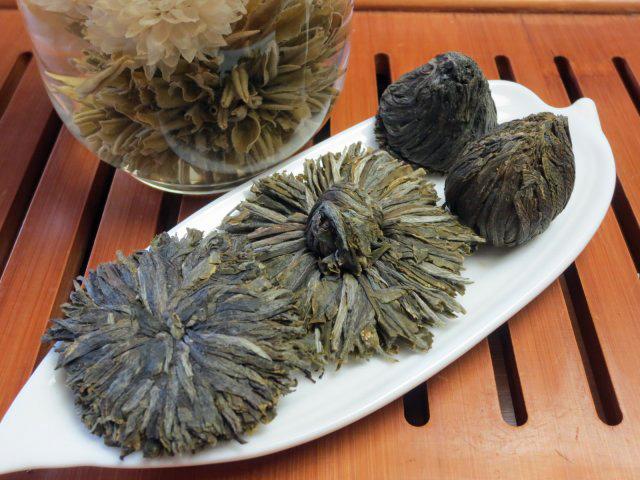 高級工芸茶(細工茶)4種類