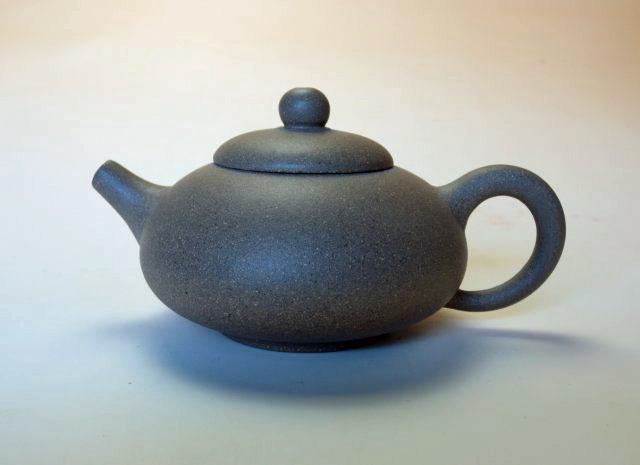 【宜興紫砂壺】石碗壺【呉 竹偉】