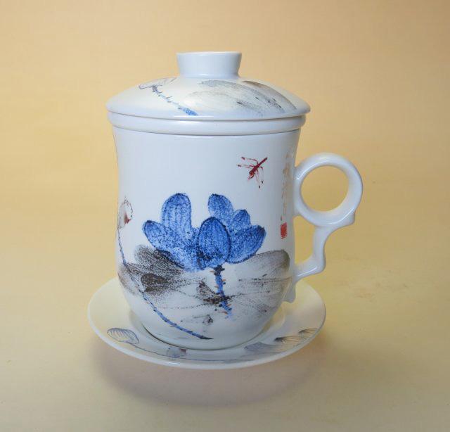 【茶漉し付きマグカップ】アートスタイルマグカップ