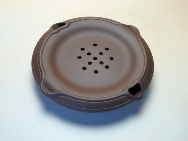 【中国茶具】紫砂製茶盤(養壺盆)紫泥