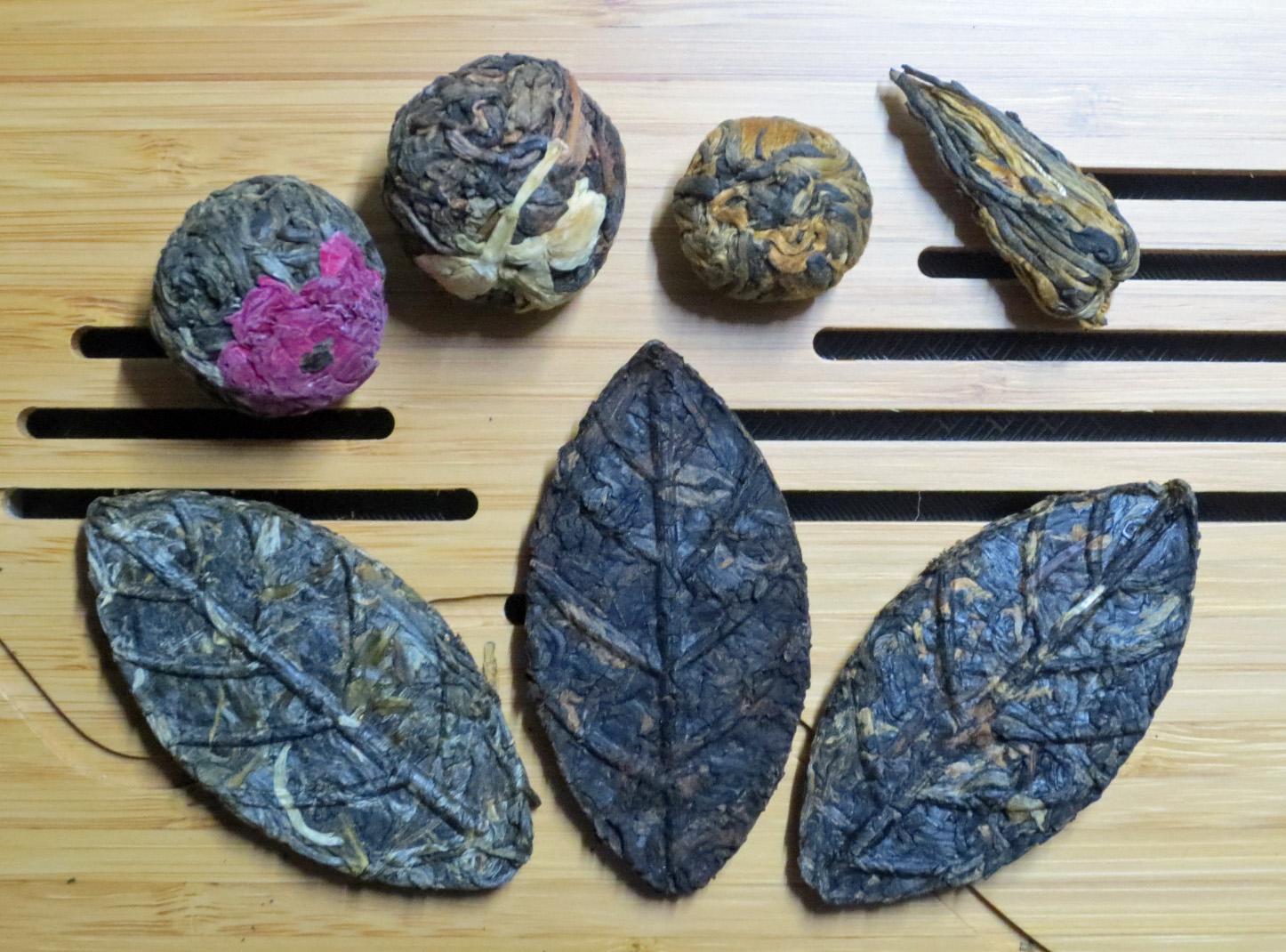 高級工芸茶7種類プーアル茶4種類・紅茶3種類)