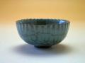 【中国茶具】龍泉窯青磁杯(菊花型)