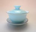 【中国茶具】青・白磁蓋碗