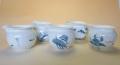 【中国茶具】彩色白磁茶海