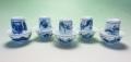 【中国茶具】景徳鎮白磁対杯