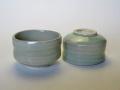 【中国茶具】鶸色茶杯(灰釉)