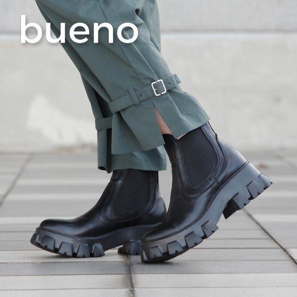 【BUENO/ブエノ】サイドゴアボリュームソールブーツ(レディース/ブラック)(bueno-M5604)【送料無料】<シューズ>