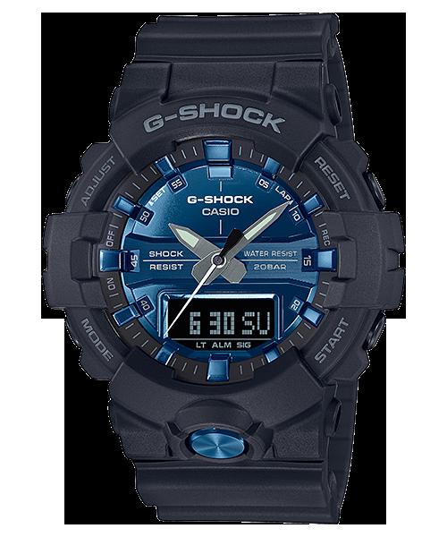 G-SHOCK GA-810MMB-1A2JF カシオ腕時計ガリッシュカラー ブラック×ブルー