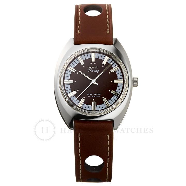 Chragiチラグ|インド手巻き腕時計HMTエイチエムティー|H.CH.35.PR.L