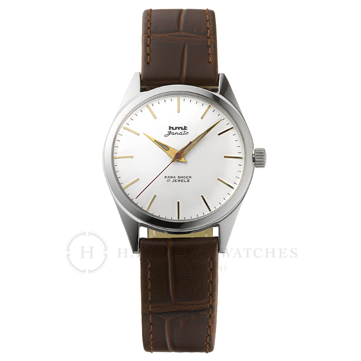 JANATAジャナータ|インド手巻き腕時計HMTエイチエムティー|H.JA.34.SHG.L