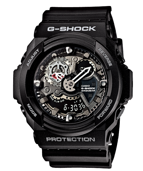 G-SHOCK GA-300-1AJF カシオ腕時計ブラック