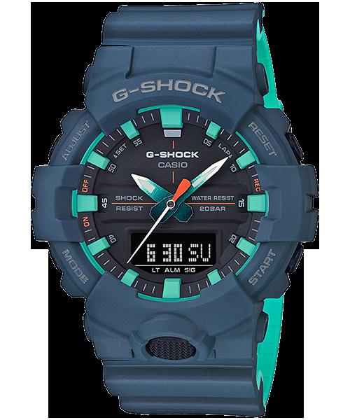 G-SHOCK GA-800CC-2AJF カシオ腕時計ネイビーブルーxサックスブルー