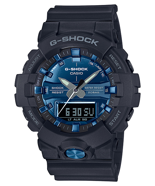 G-SHOCK GA-810MMB-1A2JF カシオ腕時計ガリッシュカラー|ブラック×ブルー