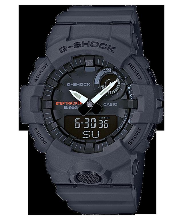 G-SHOCK GBA-800-8AJF カシオ腕時計グレー|スマフォBluetooth通信連携