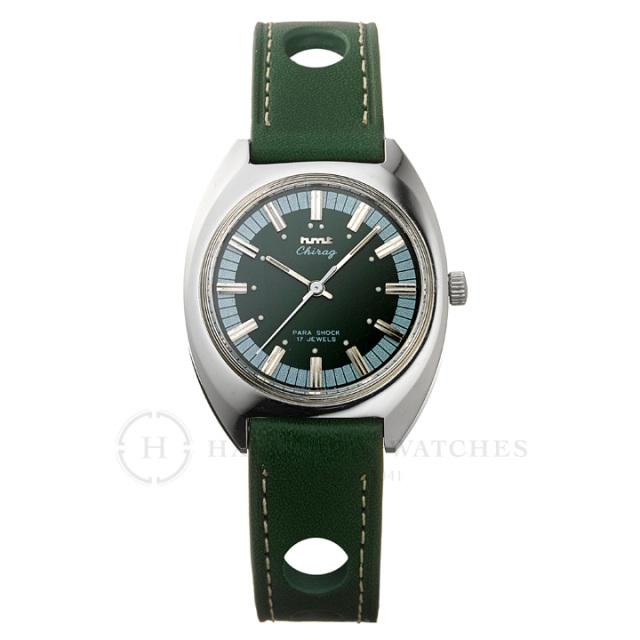 Chragiチラグ|インド手巻き腕時計HMTエイチエムティー|H.CH.35.GR.L