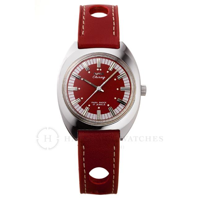 Chragiチラグ|インド手巻き腕時計HMTエイチエムティー|H.CH.35.RE.L