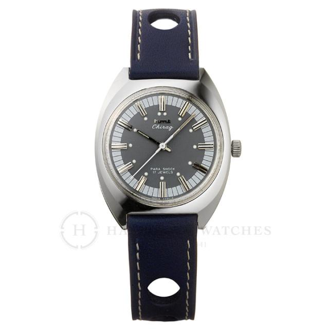 Chragiチラグ|インド手巻き腕時計HMTエイチエムティー|H.CH.35.SA.L