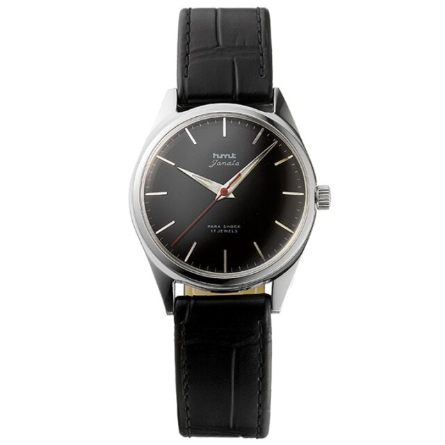 JANATAジャナータ|インド手巻き腕時計HMTエイチエムティー|H.JA.34BKS.L