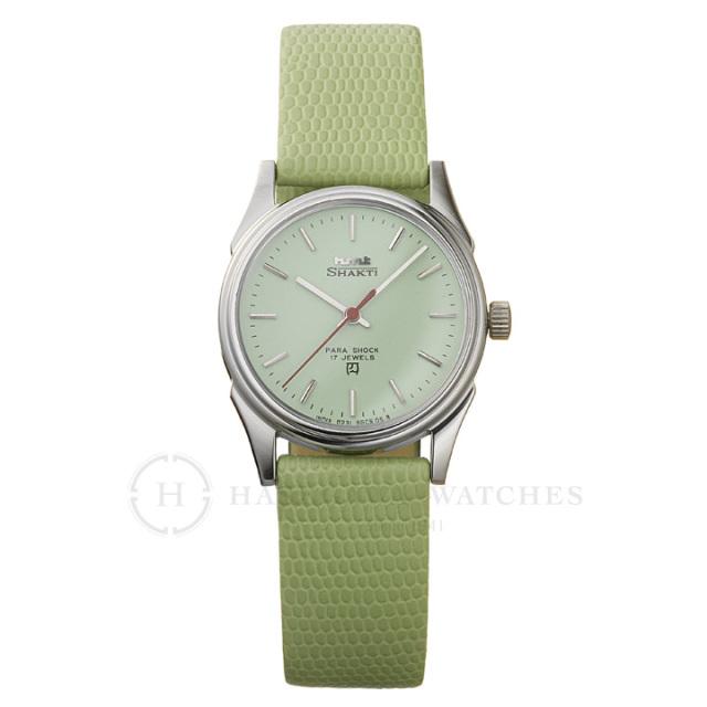 Shaktiシャクティ|インド手巻き腕時計HMTエイチエムティー|H.SH.32.CH.L