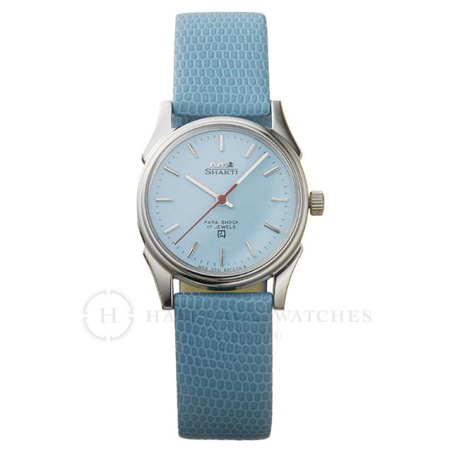Shaktiシャクティ|インド手巻き腕時計HMTエイチエムティー|H.SH.32.TU.L