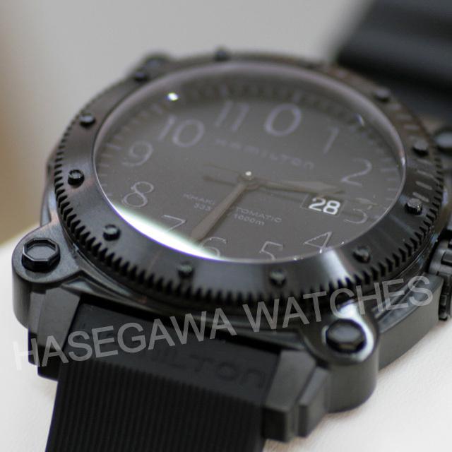 ハミルトン時計ビロウゼロ1000映画オデッセイ登場モデル