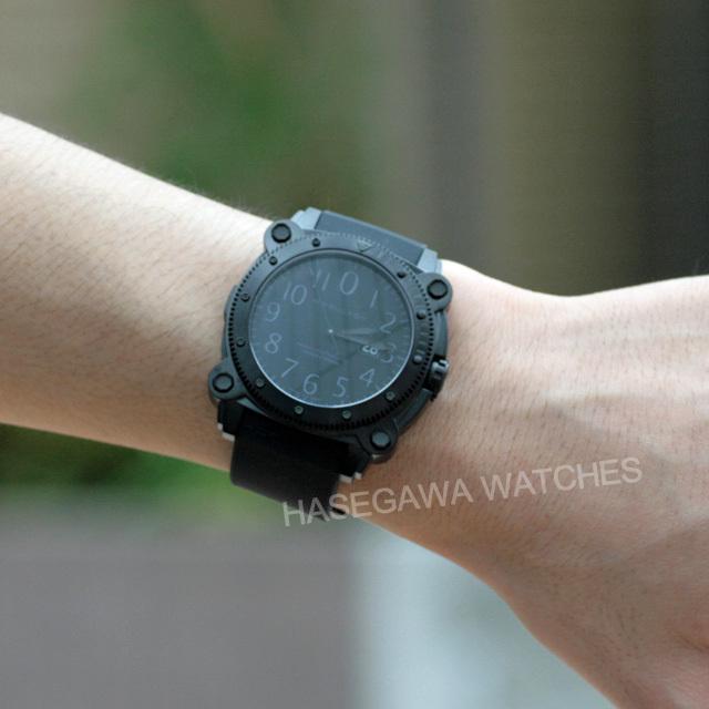 ハミルトンビロウゼロ1000腕時計着用写真