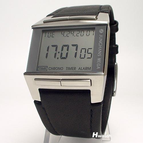 ユンハンス・ユングハンスJUNGHANS電波時計Mega1000(ドイツ腕時計)