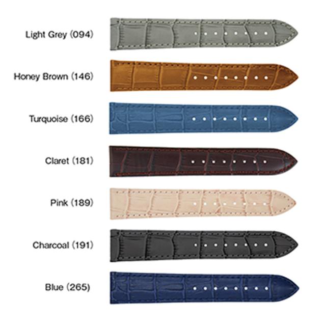 時計ベルトbolleカーフ色種類2