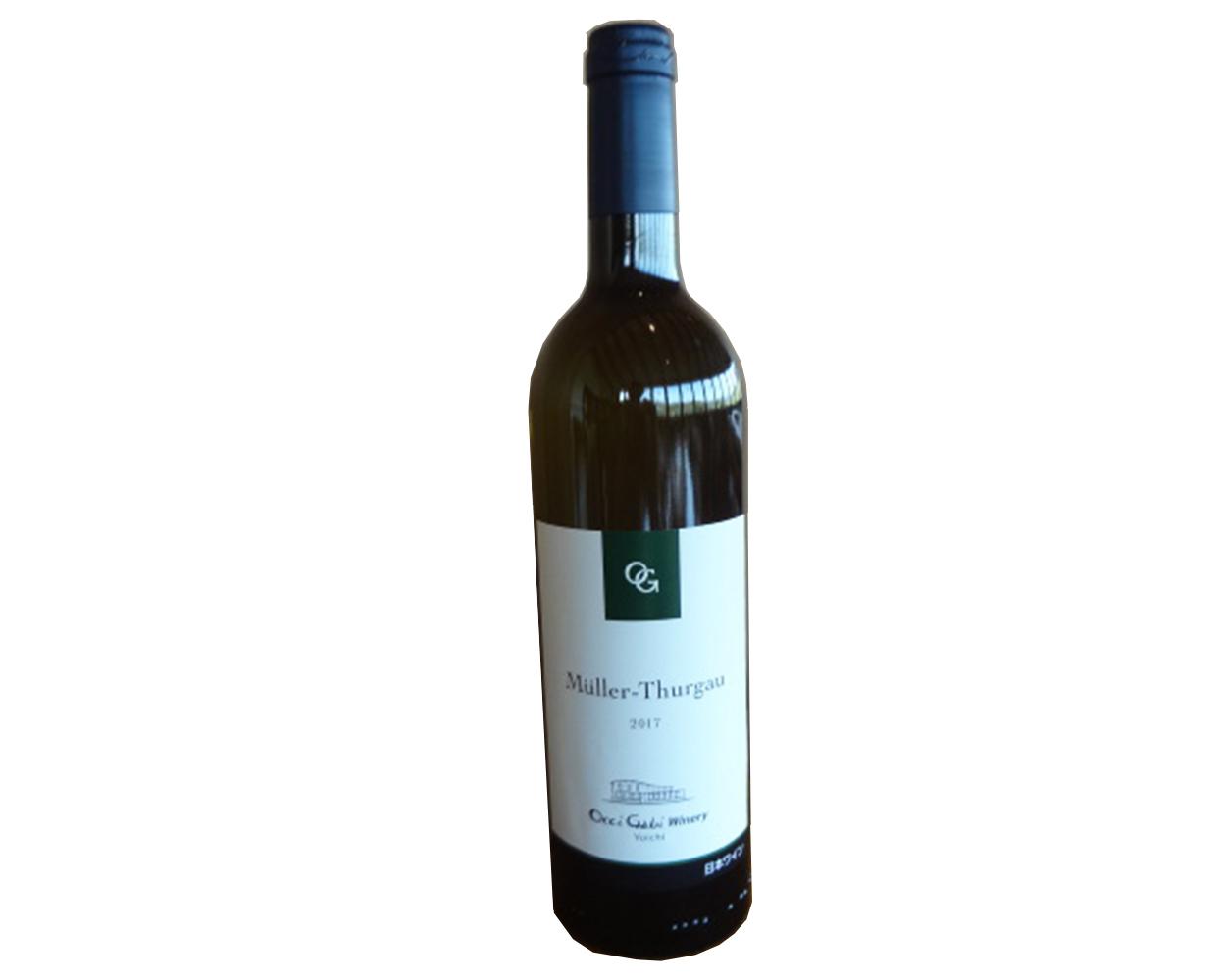 白ワイン ミュラートルガウ 2017 750ml