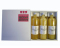 <余市>山本果樹園 四季彩の丘 りんご果汁100%ジュース お好み3本セット