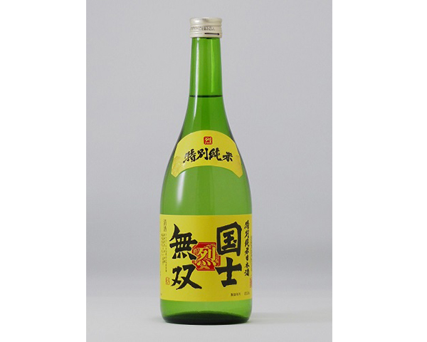 特別純米酒 国士無双 烈 720ml