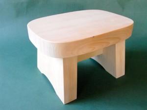 青森ヒバ/青森ひば |  風呂椅子 (小)[245×175×高さ155mm]