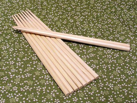 ひば箸 10膳 (23cm) | 青森ひば/青森ヒバ