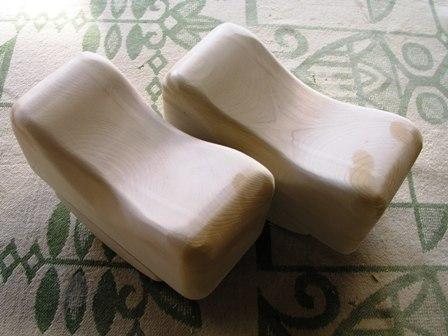 青森ヒバ木枕 (22×11×高7~8,5cm) | 青森ひば/青森ヒバ