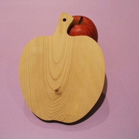 野菜ボード 《りんご 》 | 青森ひば/青森ヒバ
