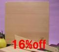 正方形まな板  [継ぎ] <縦30×横30×厚さ3cm> 調理へらと菜箸| 青森ヒバ/青森ひば