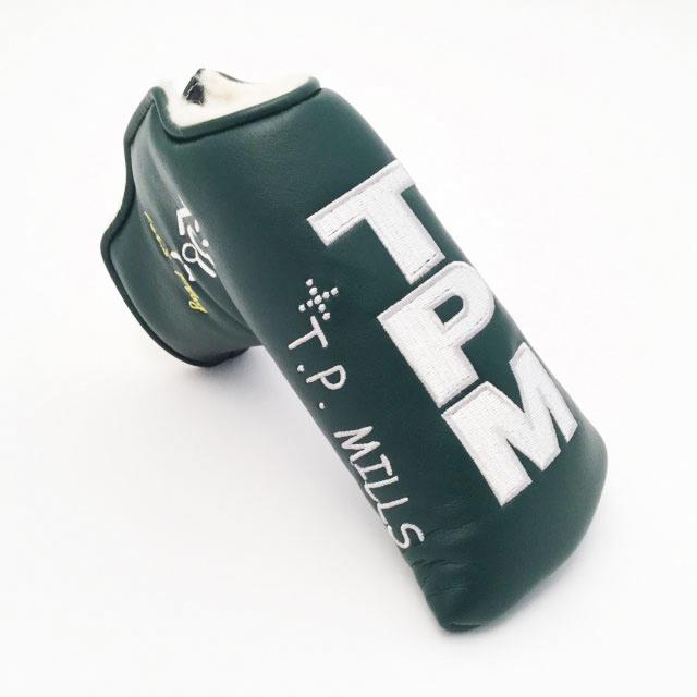 【T.P. Mills】 パター カバー(レッツ プレイ - グリーン)