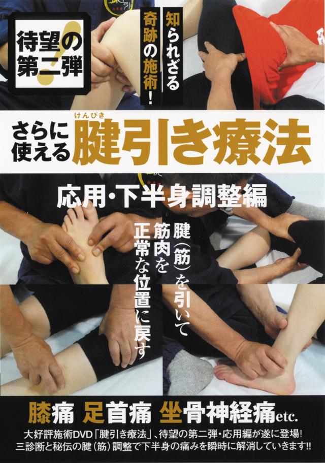 DVD さらに使える腱引き療法