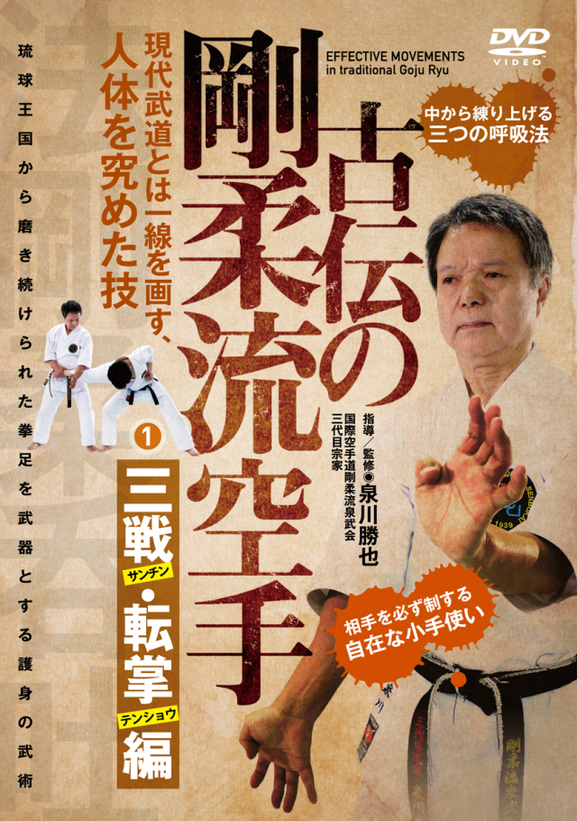 DVD 古伝の剛柔流空手 第一巻
