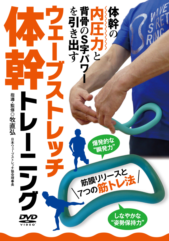 DVD ウェーブストレッチ体幹トレーニング