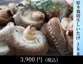原木栽培生しいたけ 1kg