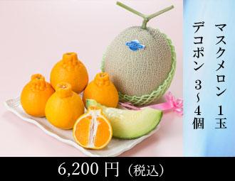 マスクメロン 1玉・晩白柚 1玉