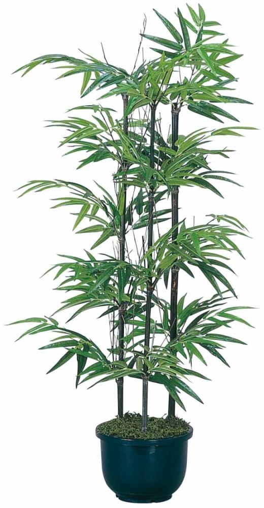 光触媒 光の楽園黒竹 1.0m【インテリアグリーン 人工観葉植物】(176a120)