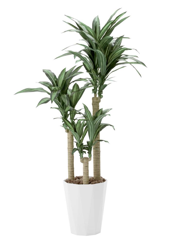 光触媒 光の楽園幸福の木 高さ 1.6m【インテリアグリーン 大型 人工観葉植物】(400a300)
