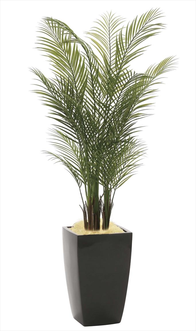 光触媒 光の楽園アーバンアレカパーム 高さ 1.7m【インテリアグリーン 大型 人工観葉植物】(945a580)