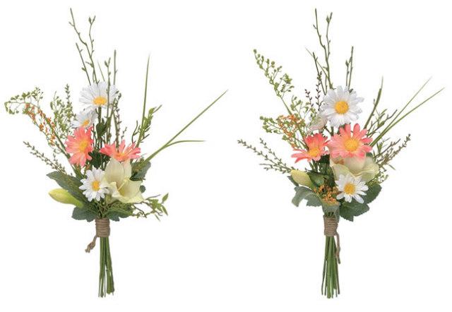 光触媒 光の楽園仏花リリー2個セット【アートフラワー 造花 】(112a30)