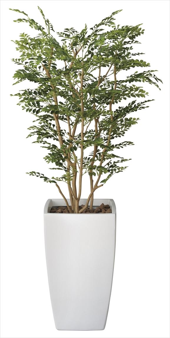 光触媒 光の楽園アートゴールデンツリー 高さ 1.8m【インテリアグリーン 大型 人工観葉植物】(114f950)
