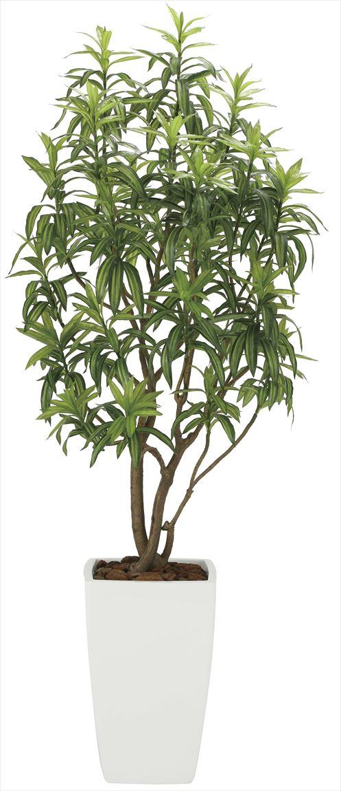 光触媒 光の楽園 フレッシュドラセナW 高さ 1.8m 【インテリアグリーン 大型 人工観葉植物】 (2007a800)