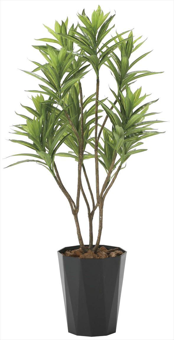 光触媒 光の楽園 フレッシュドラセナ 高さ 1.2m 【インテリアグリーン 人工観葉植物】 (2018a220)