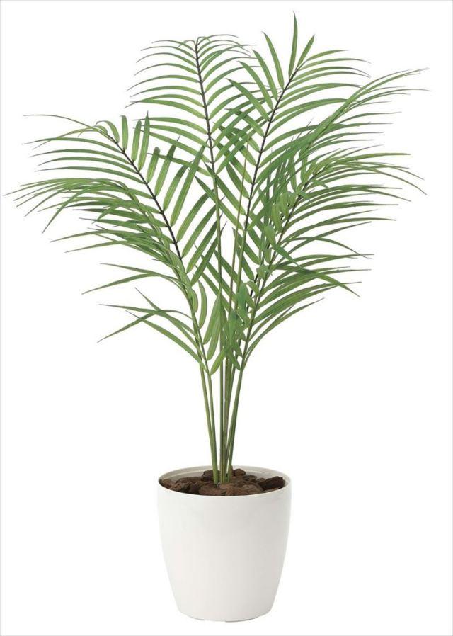 光触媒 光の楽園 パームヤシ 【インテリアグリーン 人工観葉植物】 (2035a85)